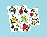 Angry Birds Temporary Tattoos (1 Sheet)