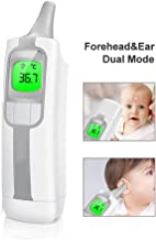 HLL Intelligent Voice Infrared Electronic Thermometer,Electric Digital Infrared LCD Non-Contact Temperature Measurement Device Fever Warning