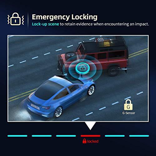 ViviLink T20X 2.5K Dash Cam for Cars, Car Camera Car Driving Recorder, 3