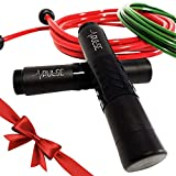 Best Weighted Jump Ropes - Pulse Weighted Jump Rope Set with Adjustable Weighted Review