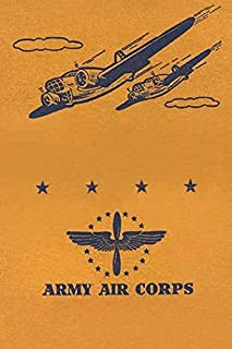 A matchbook cover honoring the Army Air Corps which eventually became the United States Air Force Poster Print by unknown ...