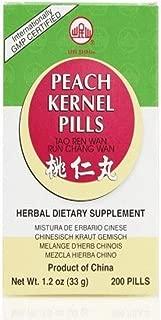 Peach Kernel Pills (Tao Ren Wan / Run Chang Wan), 200 ct, Min Shan