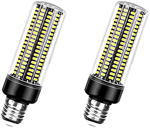 GH-YS Bombilla de luz LED 20W E27 Bombilla Luz de Vela LED 189 LED 5736 SMD, Lámpara halógena Equivalente de 200W Adecuado para iluminación Interior, etc.