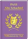 Willkommen im Club der Alten Schachtel ultimative Spaßpässe mit Piccolo Rosenlikör Geschenk für...
