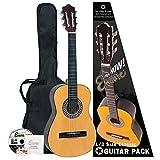 Encore ENC12OFT - Guitarra clásica (abeto laminado), color natural