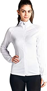 Women's Long Sleeve Zip Up Athletic Wear Sweater Work Out Jacket