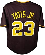 Fernando Tatis Jr Autographed San Diego Padres Custom Brown Baseball Jersey - JSA COA