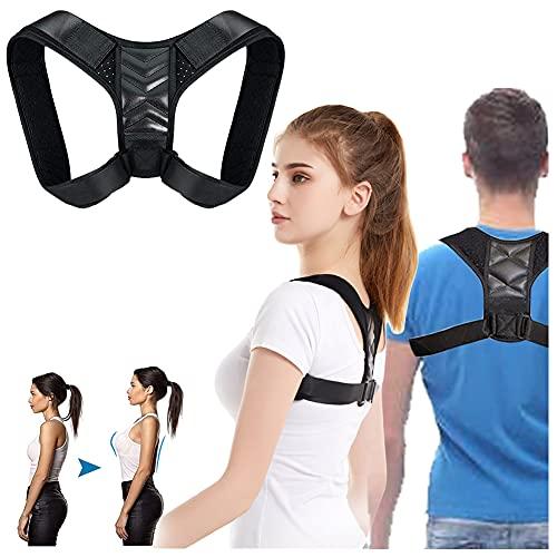 Haltungskorrektor-Gurt,Haltungskorrektor für Männer und Frauen,Rücken Geradehalter,Rücken Haltungskorrektur Geradehalter,Wirksam bei Nacken,Rücken- und Schulterschmerzen,Lendenwirbelstütze (Unisex)
