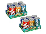 Soda Cans Fizzy Candy Six-Packs - 2 of the Six-Packs