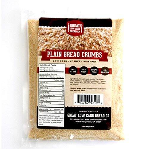 Great Low Carb Bread Co. - Low Carb Plain Bread Crumbs, 4 oz.