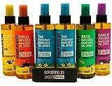 Borderfields Olio di colza Spray Infusions Retail Pack – Confezione da 6 spray (6 x 200 ...