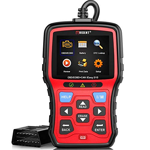 VIDENT iEasy310 Enhanced OBD2 Scanner Professional OBDII Code Reader Engine Fault Scan Tool
