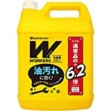 WORKERS 作業着専用洗い 液体洗剤 超特大 4500g