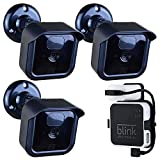 Blink Outdoor Camera Mount Bracket,3 Pack Full Weather Proof Housing/Mount with Blink Sync Module Outlet Mount for Blink XT2/XT Indoor Outdoor Cameras Security System (3 Pack)