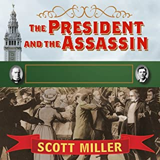 The President and the Assassin audiobook cover art