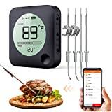 Shihong-G Drahtloses Grillthermometer, Bluetooth...