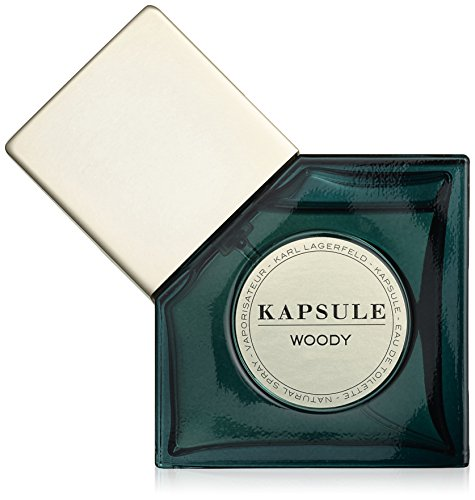 Karl Lagerfeld Kapsule Woody EDT Spray 30 ml, 1er Pack (1 x 30 ml)