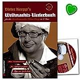 Kropp's Weihnachtslieder für Mundharmonika (Blues Harp) in C-Dur - Songbook mit bunter herzförmiger Notenklammer - 9783802409271