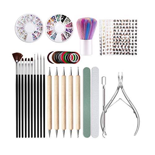 Beaupretty Nail Dotting Pennen Nail Art Schilderij Kit Nail Art Design Puntjes Schilderij Tekening Penseel Manicure Accessoires