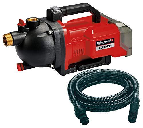 Einhell 4180400 AQUINNA Akku-Gartenpumpe + 4173645 Saugschlauch 7 m Kunststoff Pumpen-Zubehör