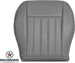 Richmond Auto Upholstery - Driver Side Bottom Replacement Leather Seat Cover Gray (Compatible with 2005-2007 Jeep Liberty)...