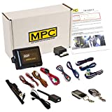 MPC Complete 2-Way LCD Keyless Entry Remote Start Kit for 2000-2001 Ford F-250 - Includes (1) 5-Button 2-Way LCD Remote