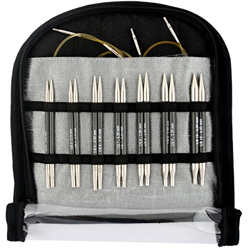 Knitter's Pride KP110605 Karbonz Deluxe Special Interchangeable Needle Set