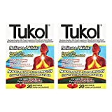 Tukol Cough And Mucus, Maximum Strength Softgels, 20 Ea (pack of 2)