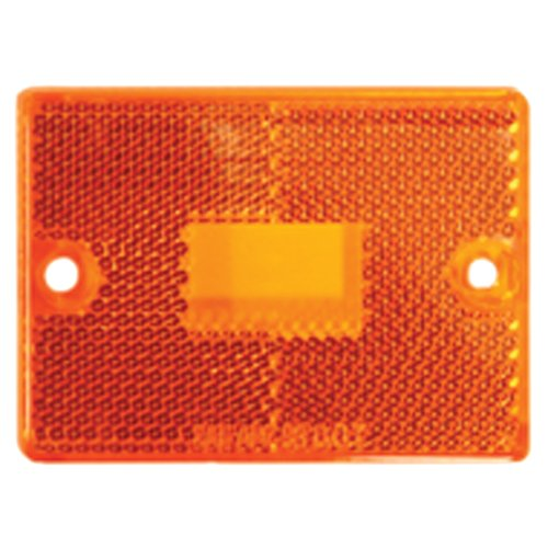 Blazer B9423A Rectangular Replacement Lens, Amber