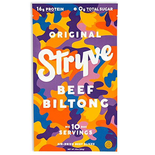 Stryve Biltong, Beef Jerky without the Junky. 16g Protein,...
