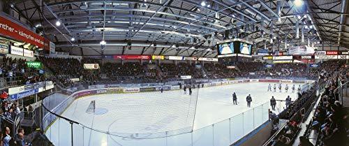 Ingolstadt Eishockey Arena Panorama – Poster 240 x 100 cm – hochwertiger FineArtPrint