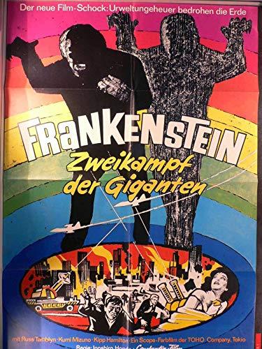 Frankenstein - Zweikampf der Giganten - Filmposter A1 84x60cm gefaltet