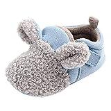 Primeros Pasos para Bebé , Zapatos recién Nacidos de Suela Blanda de Invierno para bebés recién Nacidos Botas Invierno Zapatillas Zapatitos Bebés