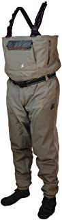 Frogg Toggs Anura II Breathable Stockingfoot Chest Wader, Mens, Anura II Reinforced Nylon Breathable Stockingfoot Chest Wader, 2711149, Beige/Khaki, Large