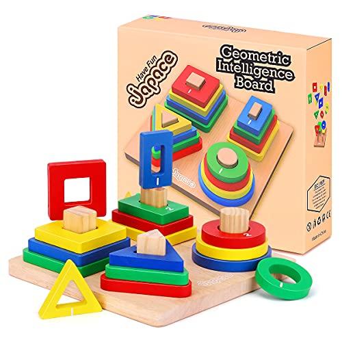 Fenrad -  Holz Sortierspiel