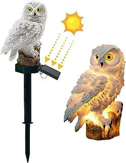 DOUBLE 2 C Garden Solar Lights Outdoor Decorative Owl LED Waterproof Garden Stake Lights, Lawn Lamp Light for Garden, Balc...
