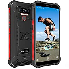 ▶▶【4GB RAM+64GB ROM & Android 10 System 】With 4GB RAM + 64GB ROM storage (expands to 256GB), the mobile phone has enough space to download all your favorite music, videos, and photos.OUKITEL WP5 Pro cellphone with MT6762D Octa-core processor and pure...