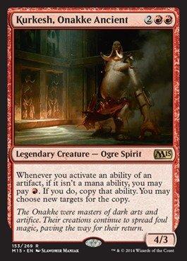 Magic The Gathering - Kurkesh, Onakke Ancient (153/269) - Magic 2015