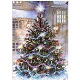XCxCN 5D-DIY-Diamante Pintura Bordado Mosaico Dibujos Animados Navidad Punto de Cruz Bordado decoración del hogar Diamante Cuadrado sin Marco -30x40cm