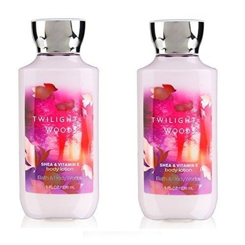 Set of 2 Bath and Max 80% OFF Body Works Lotion Year-end annual account 8 Woods Twilight Shea Ounce