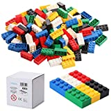 Katara 120 Bloques de construcción 4x2, Compatible con Todos los demás Fabricantes, Disponible en Muchos Colores – Colorido