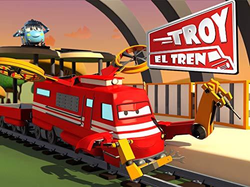 Troy el Tren en la Ciudad de Trenes