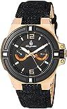 ブルゲルマイスター Burgmeister 腕時計 Men 039 s Quartz Stainless Steel and Canvas Casual Watch, Color:Black アナログ クォーツ BM220-922-1 メンズ 【並行輸入品】