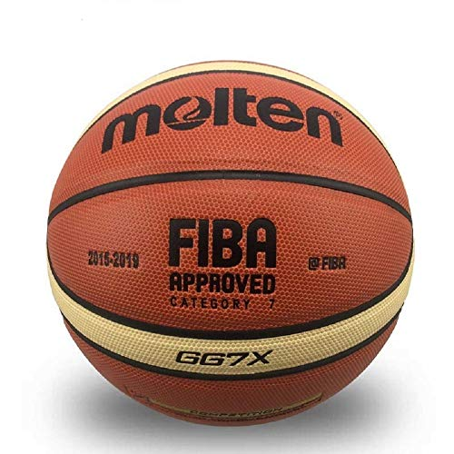 Buy Discount MINSA GL7 Basketball PU Materia Official Size7 Basketball with Free Bag Net + Needle (B...