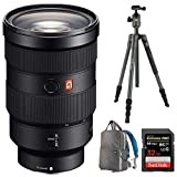 Sony AUTHORIZED DEALER - Includes Full Sony USA WARRANTY Sony FE 24-70mm F2.8 GM Full Frame E-Mount Lens The ultimate choice for professional portrait, travel and event photographers seeking the highest possible optical performance. The XA element re...