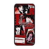 Coque fine en TPU pour Xiaomi Redmi Note 9/10X 4G-Anime-Kakegurui Jabami-Yumeko 2 Noir mat