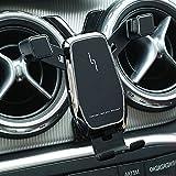 El soporte para teléfono de coche es adecuado para mercedes benz cla accesorios gla x156 gla200 clase b cla200 220250 a180 a200 a220 b180 b200(negro)