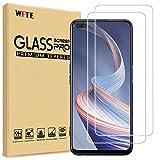 WFTE [2-Pack] Protector de Pantalla para OPPO Reno4 Z 5G,9H Dureza,Huellas Dactilares Libre,Sin Burbujas,Cristal Templado OPPO Reno4 Z 5G