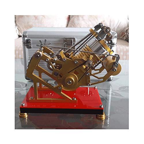 JWWOZ Feuer dämpfende Stirling Motor-Modell Mini Motor Dampf-Motor Scientific Experimental Toy Geburtstags-Geschenk