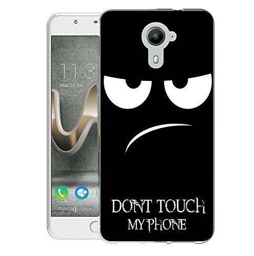 FoneExpert® Wiko U Feel Prime Tasche, Ultra dünn TPU Gel Hülle Silikon Case Cover Hüllen Schutzhülle Für Wiko U Feel Prime
